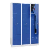 G-Office Z-Spind, 6 Abteile in Z-Anordnung, 1800 x 1185 x 500 mm (HxBxT)